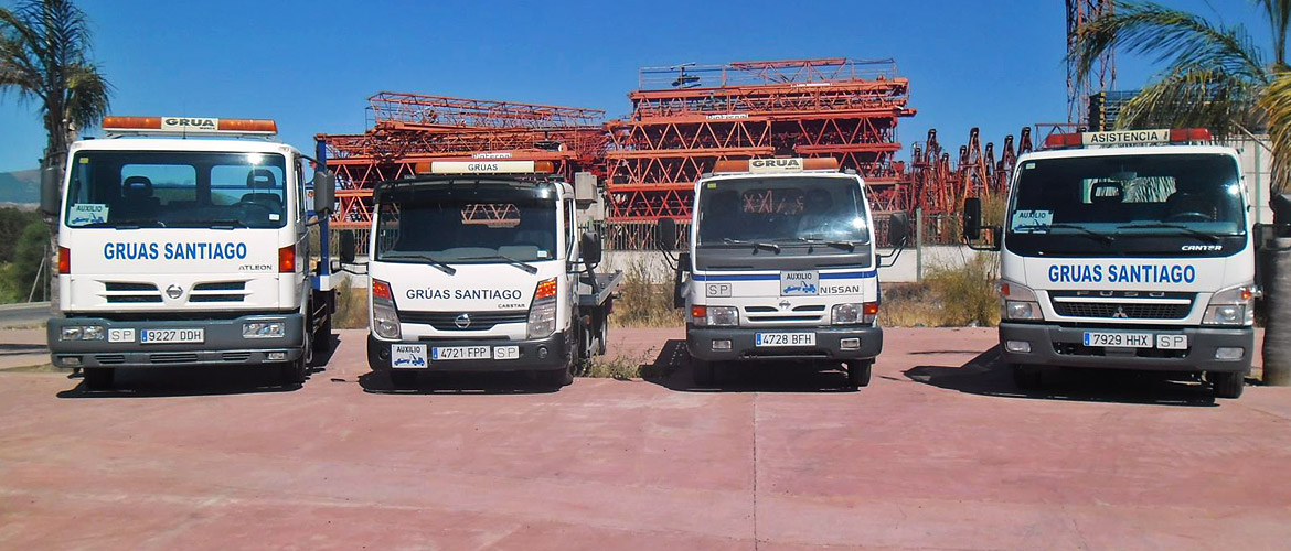 Car towing Santiago: trucks