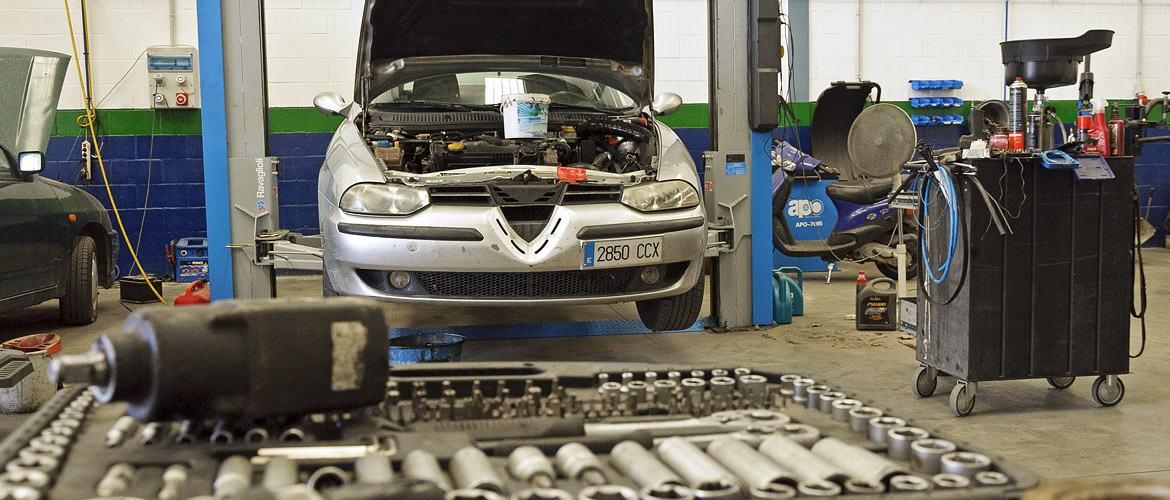 Pizarra vehicle workshop services
